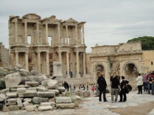 Library ruins at Ephesus